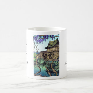 Nouet Noel Kameido shin hanga japanese scenery Classic White Coffee Mug