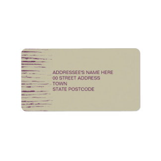 Nougat Address Label