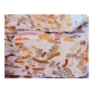 Nougat from Provence Postcard