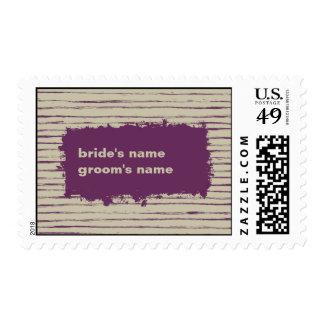 Nougat Wedding Stamp