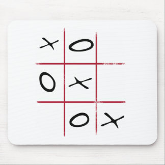 Noughts and Crosses Mouse Pad