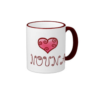 NOUNA mug! Ringer Coffee Mug