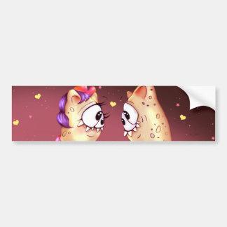 NOUNOUKS MONSTERS CUTE Bumper Sticker