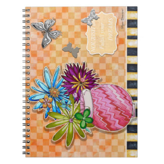 Nourish and Fulfill Your Dreams Notebook