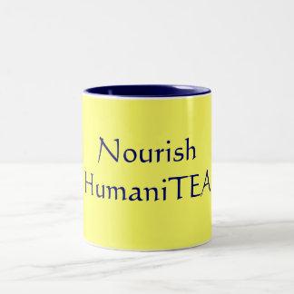 Nourish HumaniTEA Two-Tone Coffee Mug