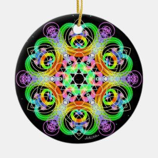 Nourish/Networking Ceramic Ornament