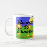 Nourish To Flourish mug