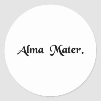 Nourishing mother classic round sticker