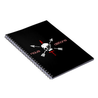 Nous Defions Spiral Note Book