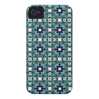 Nouveau Art Style Abstract Bas-relief Kaleidoscope iPhone 4 Cases