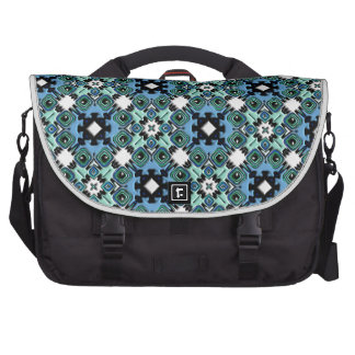 Nouveau Art Style Abstract Bas-relief Kaleidoscope Bag For Laptop