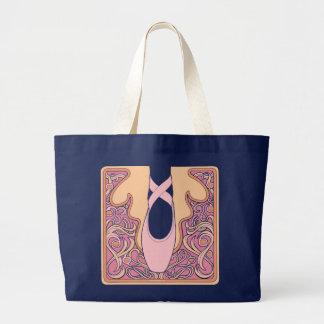 Nouveau Ballet Large Tote Bag
