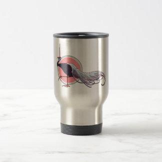 Nouveau Bird Travel Mug