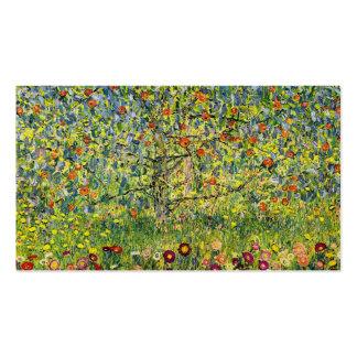 Nouveau del arte de la pintura de Gustavo Klimt el Tarjetas De Visita