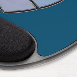 Nouveau Diamante Azure Gel Mouse Pad