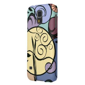 Nouveau Garden Moon Abstract Galaxy Phone Case Galaxy S5 Cases