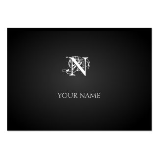 Nouveau Graphite Great Business Card Template