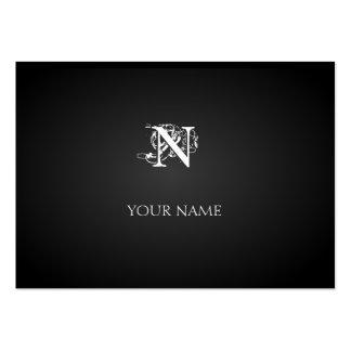 Nouveau Graphite Great Business Card Template