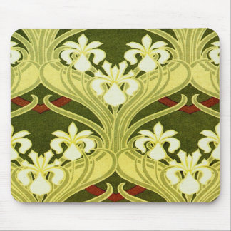 Nouveau in Spring Green Mousepad
