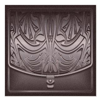 Nouveau Intaglio 5.25x5.25 Square Paper Invitation Card