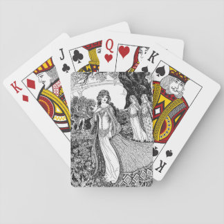 Nouveau Ladies Playing Cards