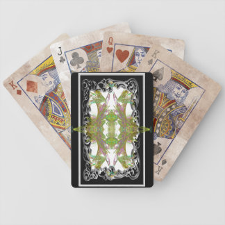 nouveau leaf quad 1 bicycle playing cards