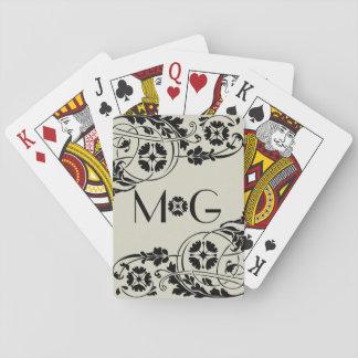 Nouveau Monogram Playing Cards