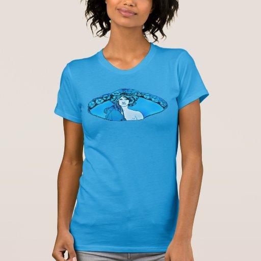 Nouveau Muse_blue Camiseta