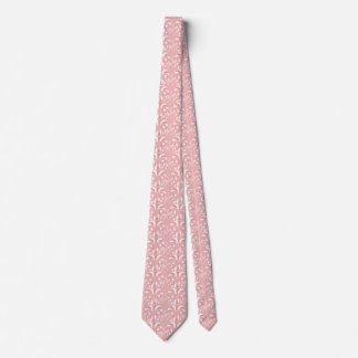 Nouveau - Mushroom Abstract - Cotton Candy Tie