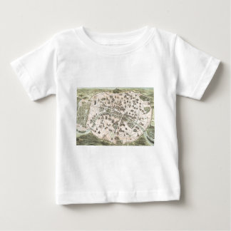 Nouveau Paris Monumental Map Baby T-Shirt