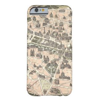 Nouveau Paris Monumental Map Barely There iPhone 6 Case