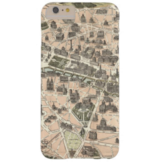 Nouveau Paris Monumental Map Barely There iPhone 6 Plus Case
