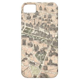 Nouveau Paris Monumental Map iPhone 5 Cases