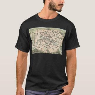 Nouveau Paris Monumental Map T-Shirt