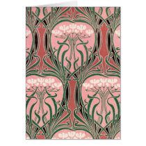 Nouveau Pink and Green