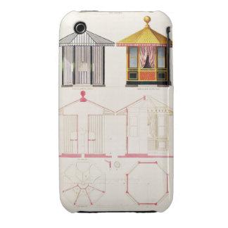 Nouveau Recueil de Menuiserie et de Decorations iPhone 3 Case