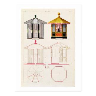 Nouveau Recueil de Menuiserie et de Decorations Postcard