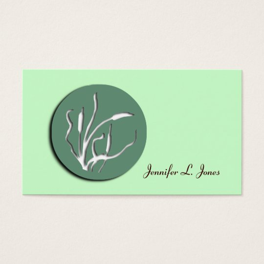 Nouveau Reeds Mommy Calling Card