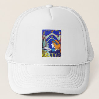 Nouveau Vintage Advertising: Oracions Trucker Hat