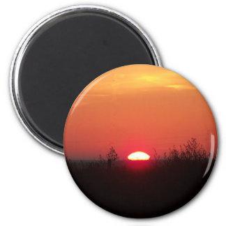 nov,11,09-018-sunrise refrigerator magnet
