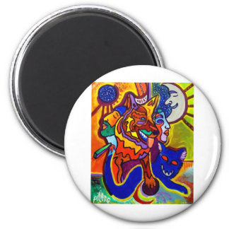 Nov.12-09 by Piliero 2 Inch Round Magnet
