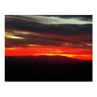 Nov 1st Sunset Postcard