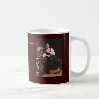 Nov 26 St. Catherine of Alexandria Coffee Mug