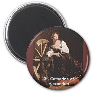 Nov 26 St. Catherine of Alexandria Magnet
