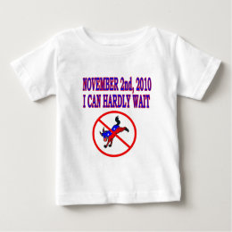 NOV 2ND 2010 I CAN HARDLY WAIT BABY T-Shirt