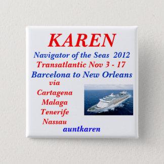 nov TA 2012 Nav Pinback Button