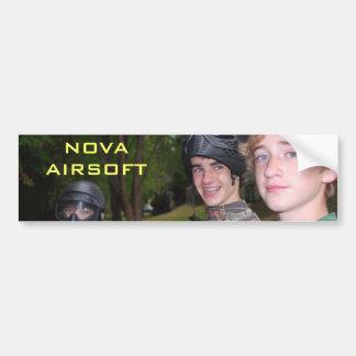 NOVA AIRSOFT BUMPER STICKER