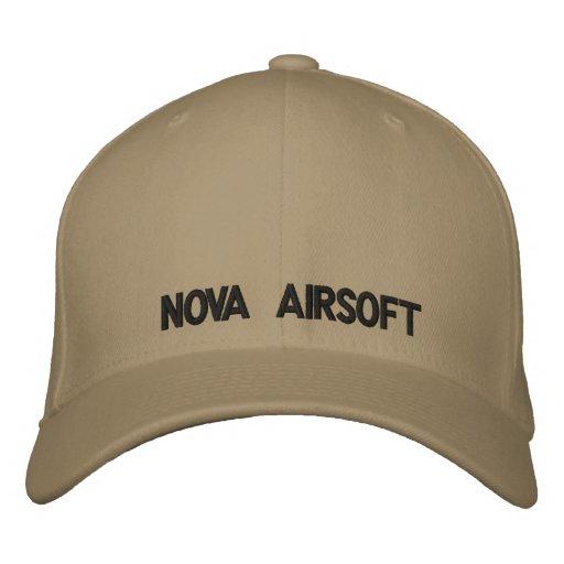 NOVA Airsoft Embroidered Baseball Cap