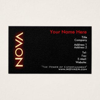 NOVA Business Cards