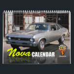 "Nova Calendar<br><div class=""desc"">The Chevy Nova Calendar. 12 months of classic muscle cars both restored and forgotten ones.</div>"